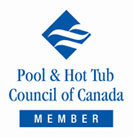 member of the pool & hot tub council of canada